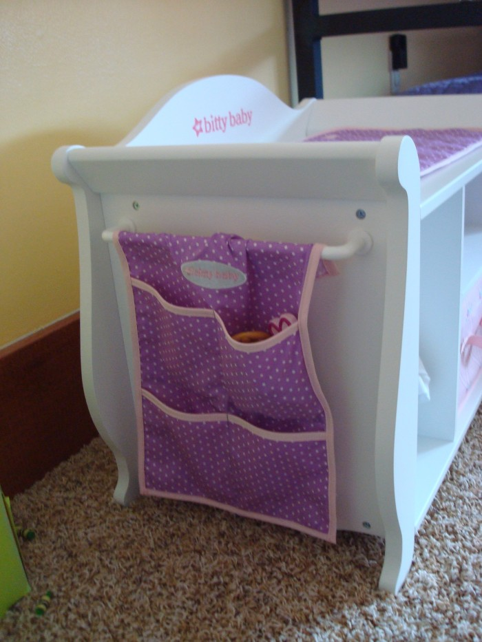 Review: Bitty Baby changing table | Small Dolls in a Big World